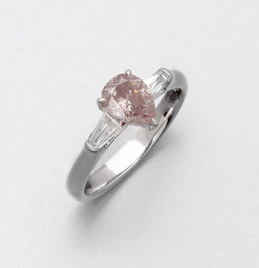 Natural Pink-Brown-Diamantring - photo 1