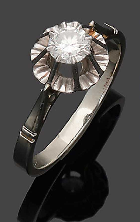 Fine brilliant solitaire Ring from the 50s - photo 1