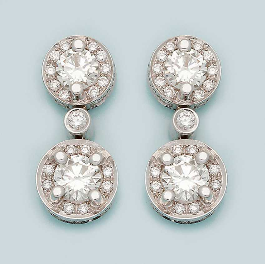 Few representative brilliant earrings - photo 1