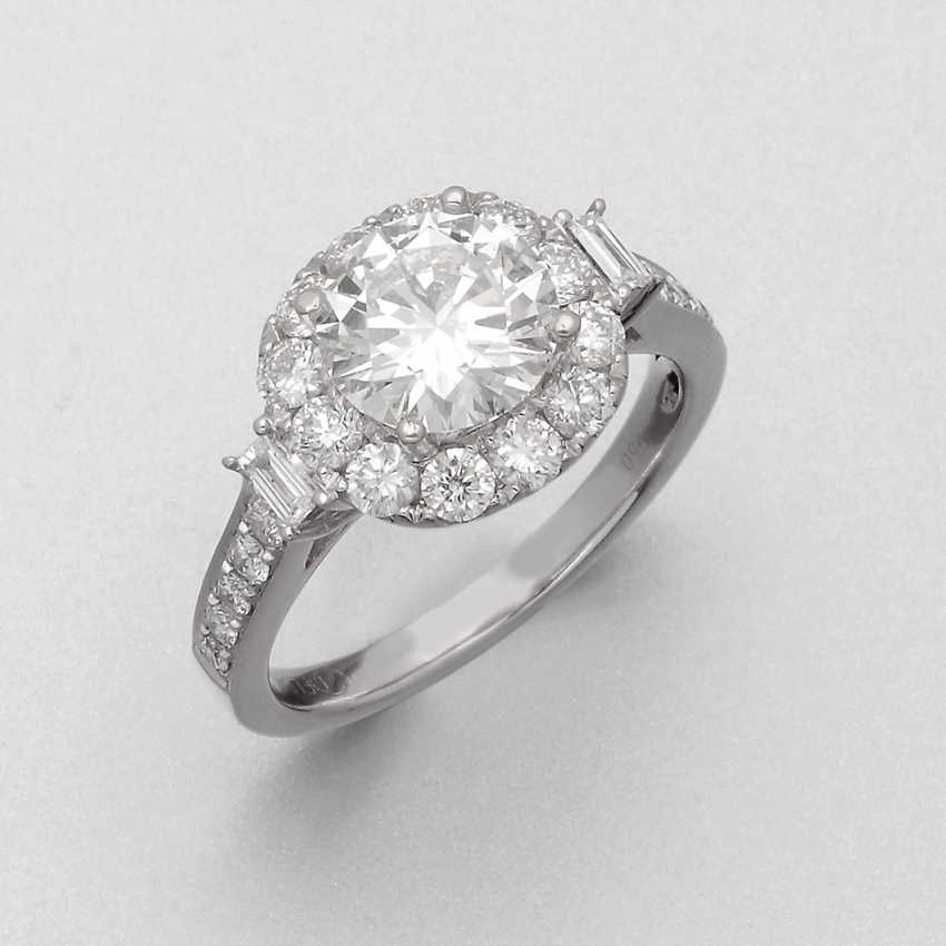 Representative Brilliant-Solitaire Ring - photo 1