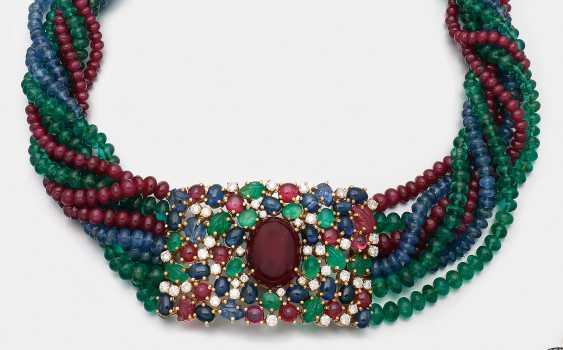Extravagant Multicolor-Dog Collar - photo 1