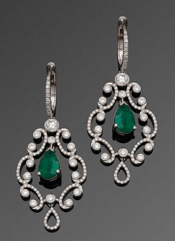Some Chandelliers with Zambia, emeralds - photo 1