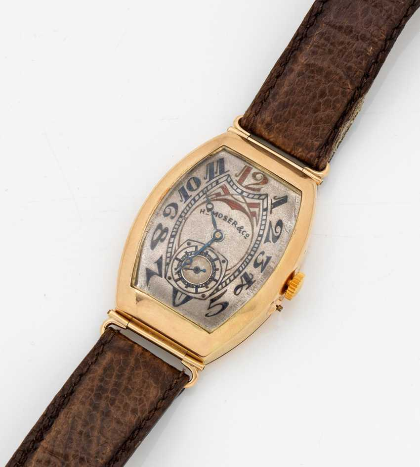 Art Nouveau gentleman's wristwatch H. Moser & Cie. - photo 1