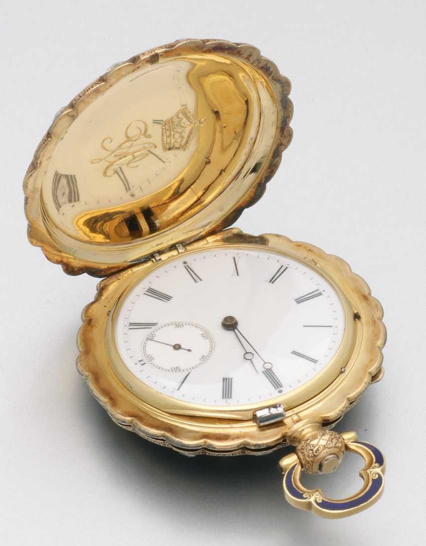 Historically significant jewelry pocket watch with diamond trim - photo 1
