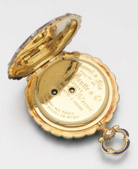 Historically significant jewelry pocket watch with diamond trim - photo 4