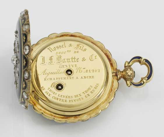 Historically significant jewelry pocket watch with diamond trim - photo 5
