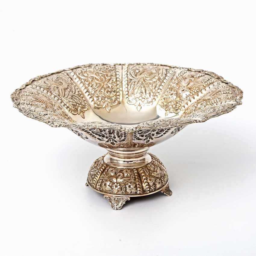 Rich Anbietschale, 925 silver, 20 decorated. Century - photo 1