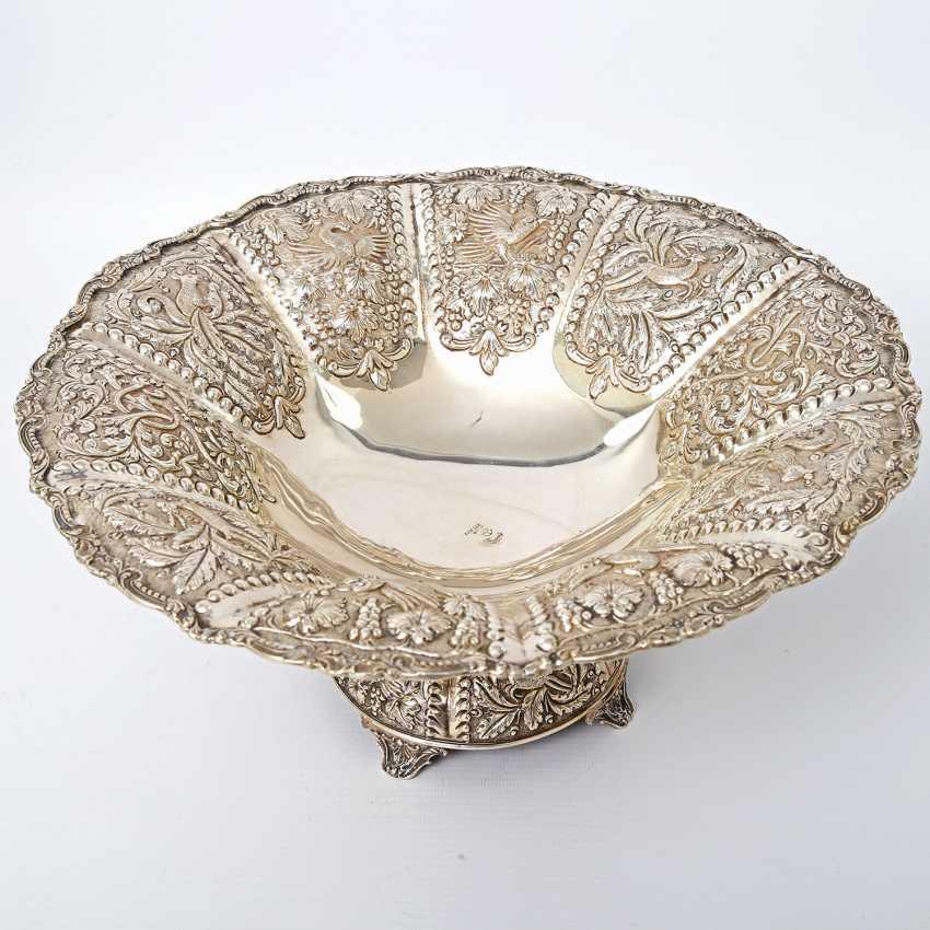 Rich Anbietschale, 925 silver, 20 decorated. Century - photo 3