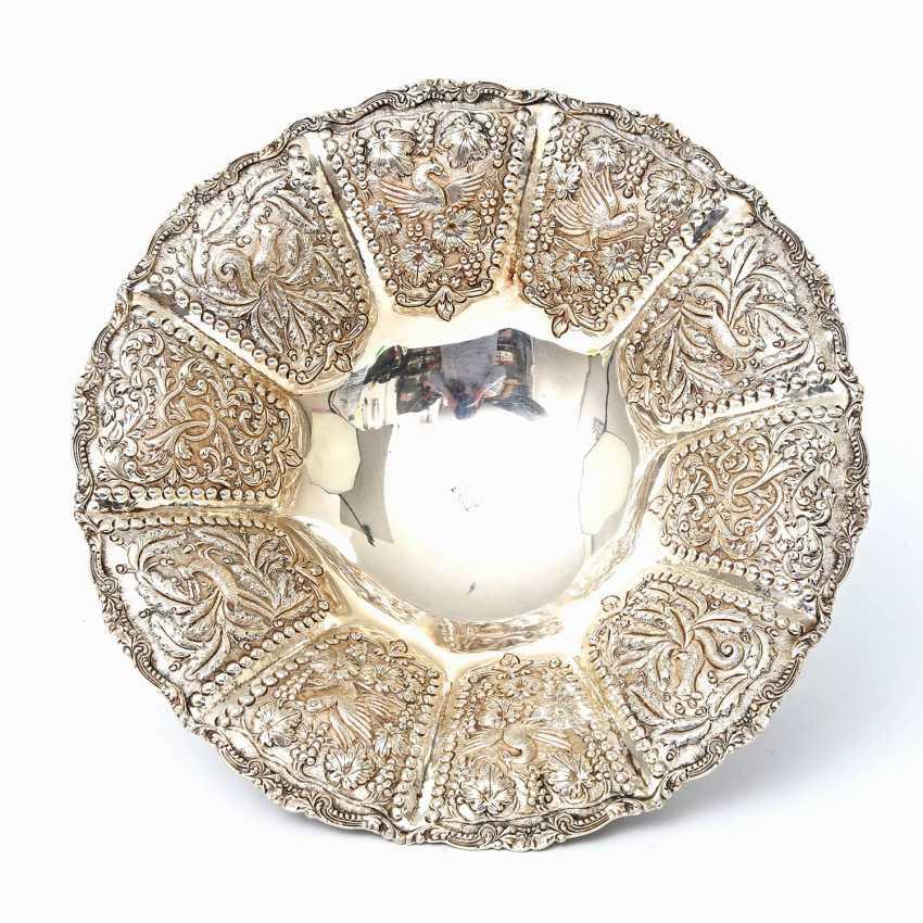 Rich Anbietschale, 925 silver, 20 decorated. Century - photo 4