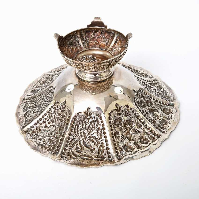 Rich Anbietschale, 925 silver, 20 decorated. Century - photo 6