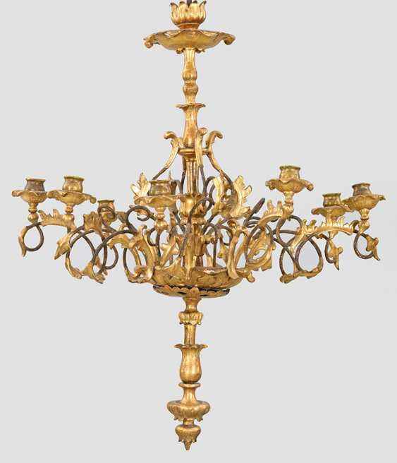 Late Biedermeier Ceiling Chandelier - photo 1