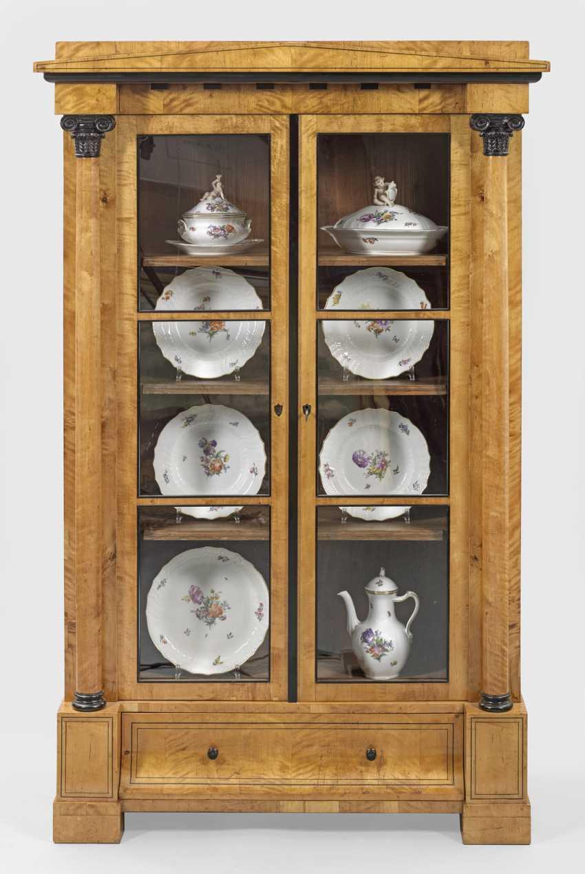 Biedermeier Vitrine Cabinet - photo 1