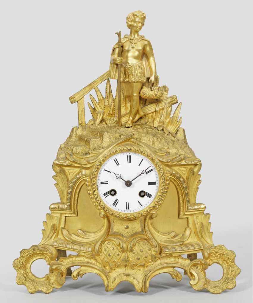 Louis Philippe-Figurenpendule - photo 1