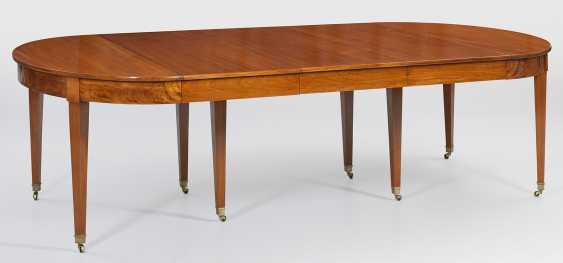 Large Biedermeier Extending Table - photo 2