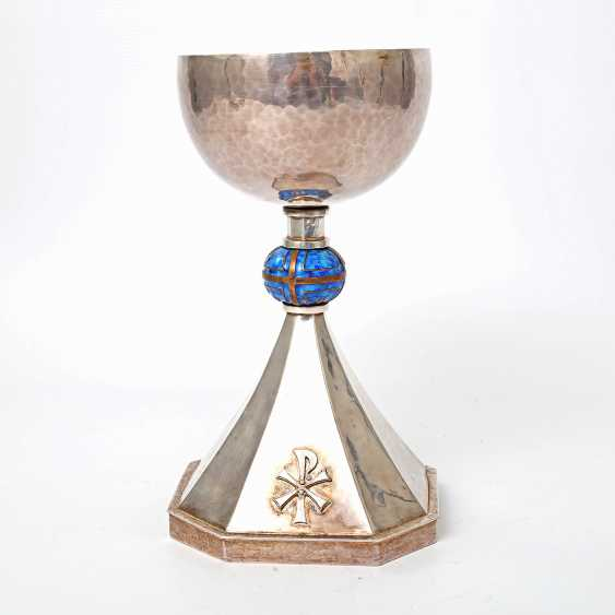 ФРИЦ MÖHLER чаша, Schwäbisch Gmünd, 20. Века - фото 2