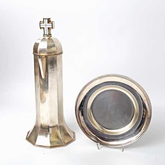 FRITZ MÖHLER sacrament jug, Schwäbisch Gmünd, 20. Century - photo 2