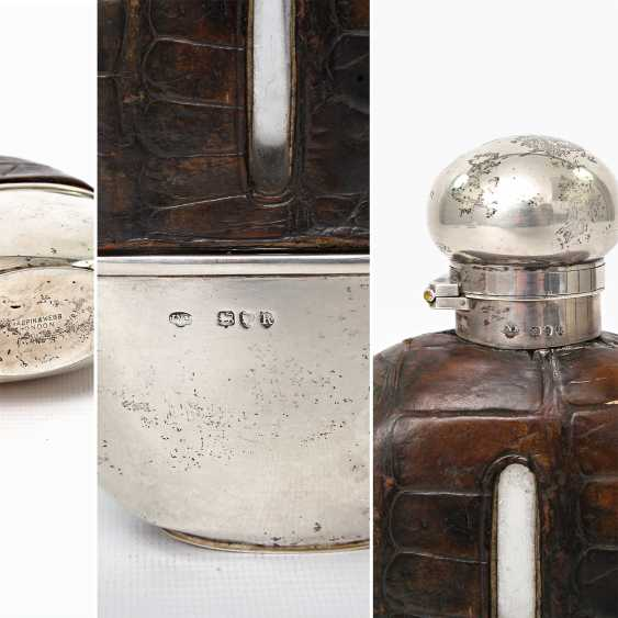 LONDON exceptional flask with integrated Cup, 1892 - photo 4