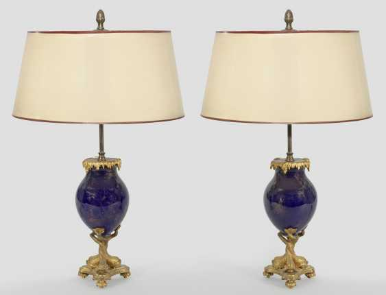 Pair of decorative table lamps - photo 1