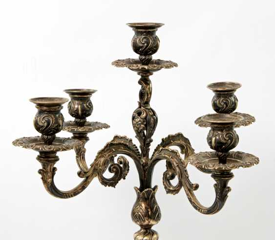 WILKENS magnificent 5 arm candelabra, silver, 20. Century - photo 3
