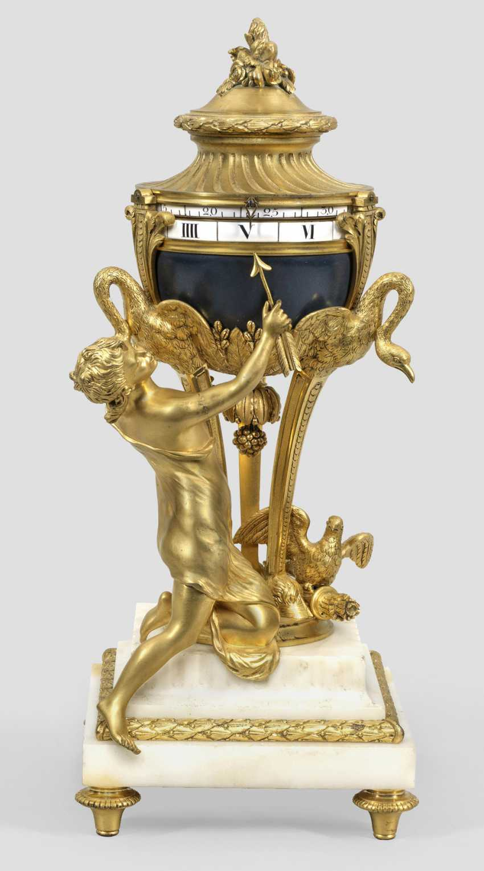 Exceptional Louis XVI-figure pendule - photo 1