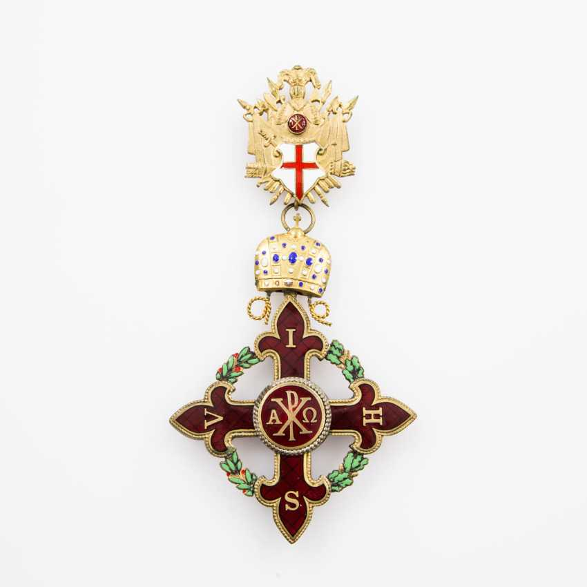 Italy - Grand cross of justice of the Constantinian order of - photo 1