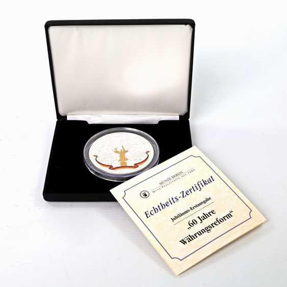 Coin - 5 ounces, approx. 155,5 g fine silver - photo 1