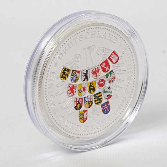 Coin - 5 ounces, approx. 155,5 g fine silver - photo 2