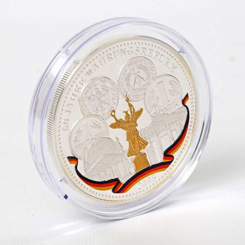 Coin - 5 ounces, approx. 155,5 g fine silver - photo 3