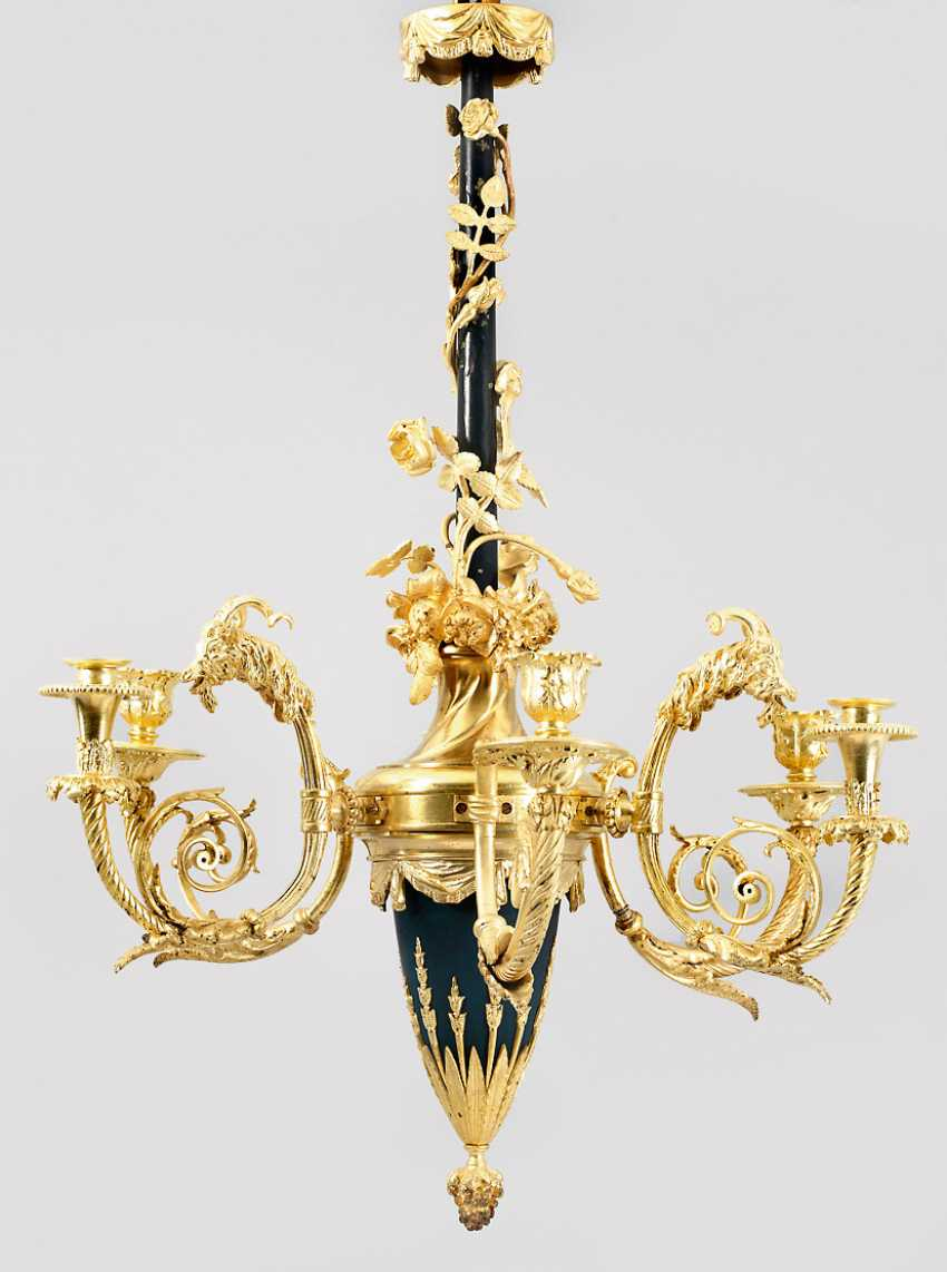 Louis XVI ceiling lamp - photo 1