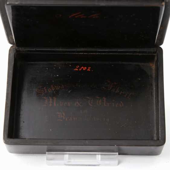 SNUFF BOX, STOBWASSER'SCHE FACTORY MEYER &WRIED IN BRAUNSCHWEIG - photo 3
