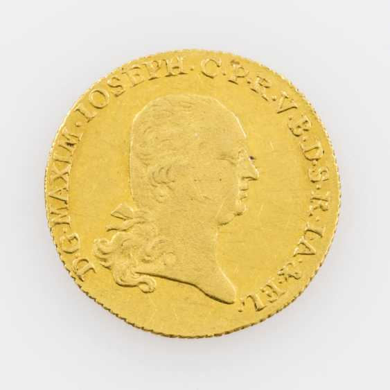 Bavaria/Gold 1 Ducat, 1803, Maximilian IV Joseph (1799-1806), with MAXIM in legend, - photo 1
