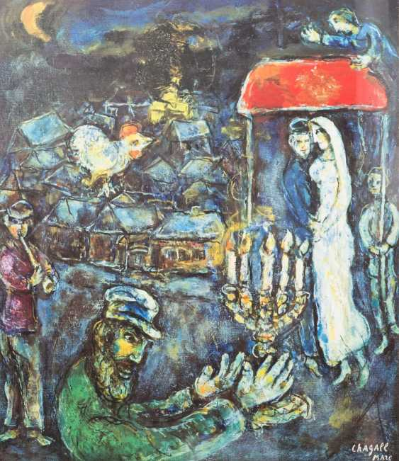 TWO COLOR LITHOGRAPHS BY MARC CHAGALL - photo 2