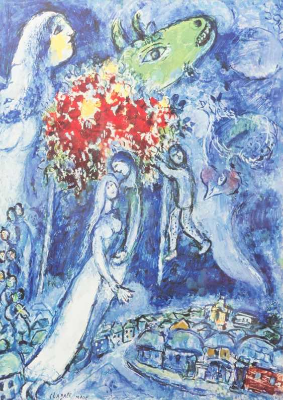 TWO COLOR LITHOGRAPHS BY MARC CHAGALL - photo 3