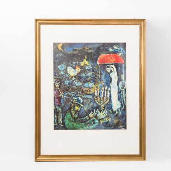 TWO COLOR LITHOGRAPHS BY MARC CHAGALL - photo 4
