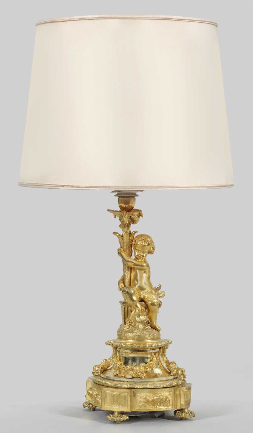 Belle Epoque table lamp by Henri Picard - photo 1