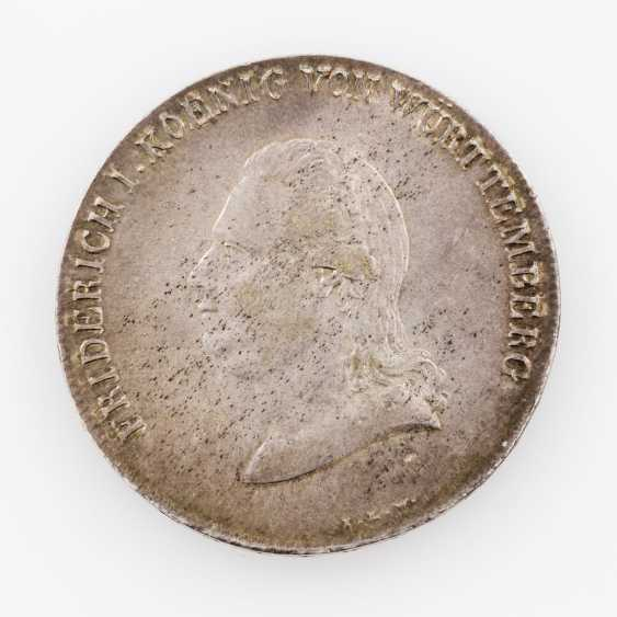 Württemberg crown Taler 1810, Friedrich II. (I.), manufacturer of I. L. W., Thun, 423, - photo 1