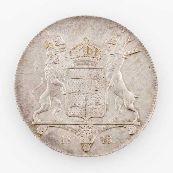 Württemberg crown Taler 1810, Friedrich II. (I.), manufacturer of I. L. W., Thun, 423, - photo 2