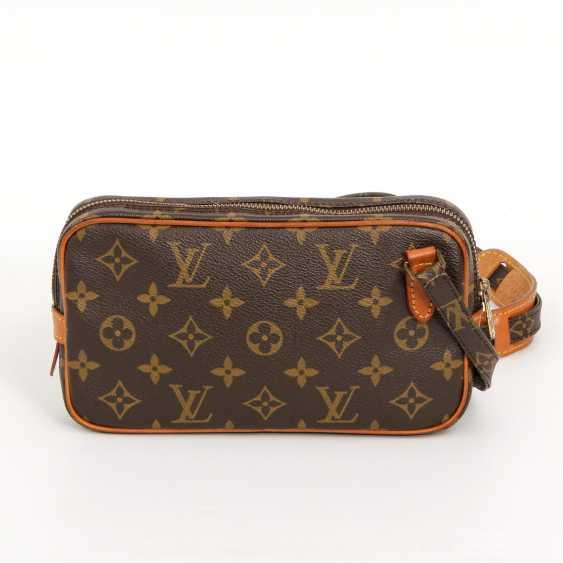 """LOUIS VUITTON VINTAGE praktische Crossbody Bag """"POCHETTE MARLY BANDOULIERE"""", - photo 1"""
