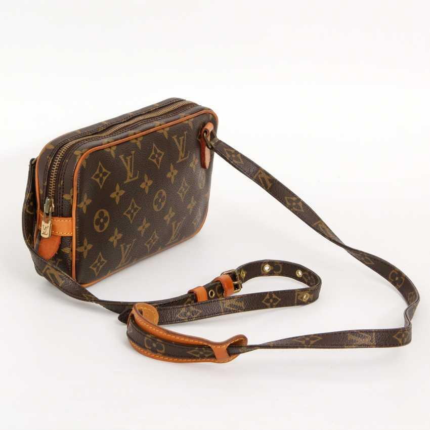 """LOUIS VUITTON VINTAGE praktische Crossbody Bag """"POCHETTE MARLY BANDOULIERE"""", - photo 2"""