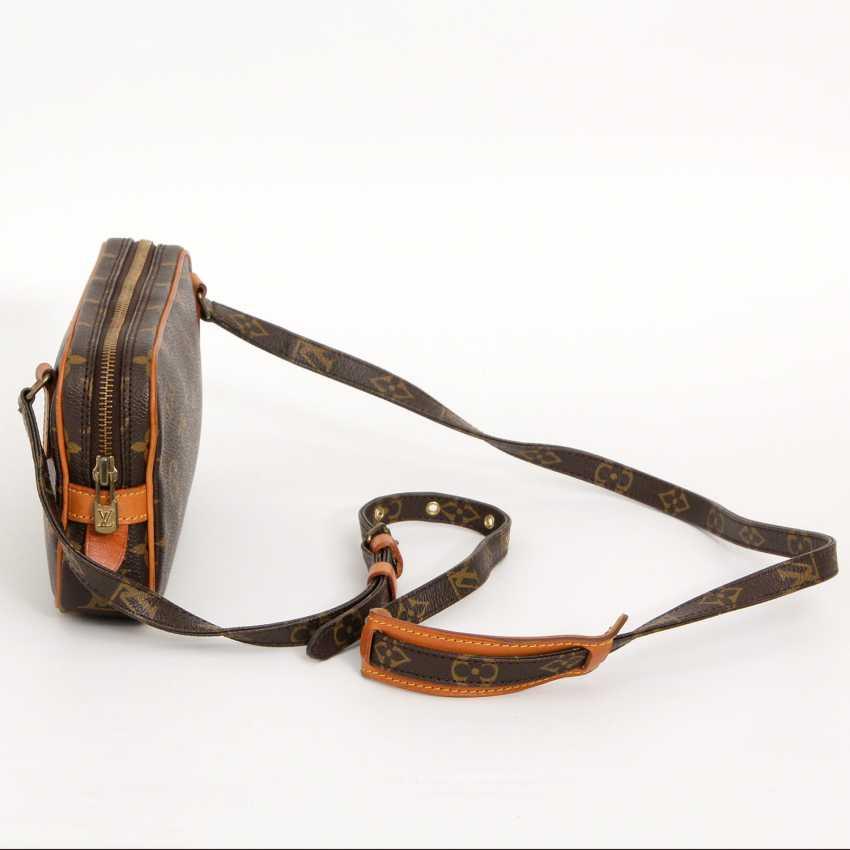 """LOUIS VUITTON VINTAGE praktische Crossbody Bag """"POCHETTE MARLY BANDOULIERE"""", - photo 3"""