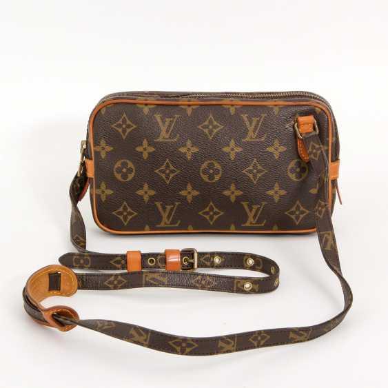 """LOUIS VUITTON VINTAGE praktische Crossbody Bag """"POCHETTE MARLY BANDOULIERE"""", - photo 4"""