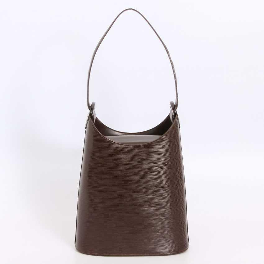 """LOUIS VUITTON VINTAGE distinctive shoulder bag """"VERSEAU"""", collection 2000. - photo 4"""