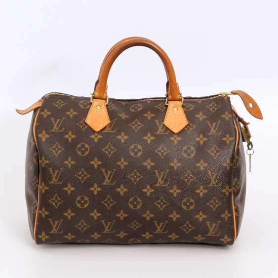 "LOUIS VUITTON coveted handbag ""SPEEDY 30"", collection 2010. - photo 1"