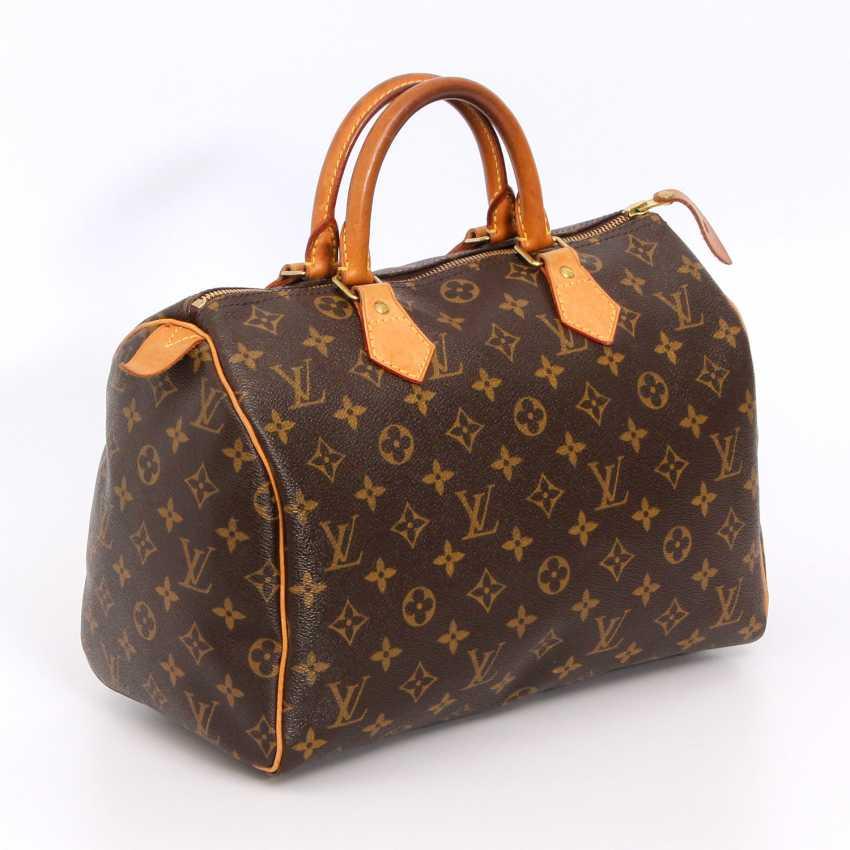 "LOUIS VUITTON coveted handbag ""SPEEDY 30"", collection 2010. - photo 2"