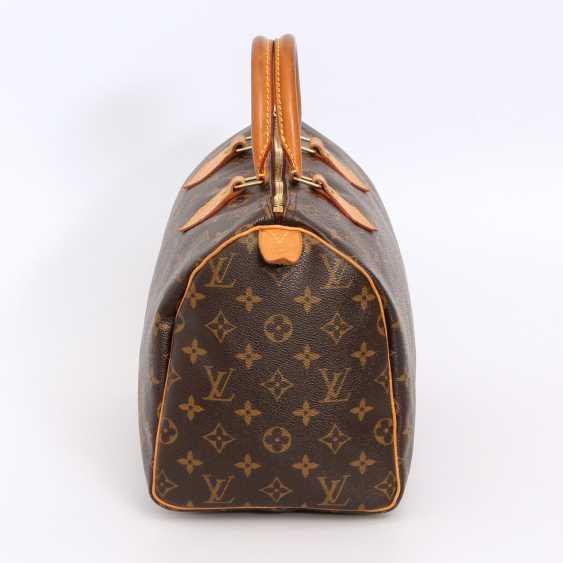 "LOUIS VUITTON coveted handbag ""SPEEDY 30"", collection 2010. - photo 3"
