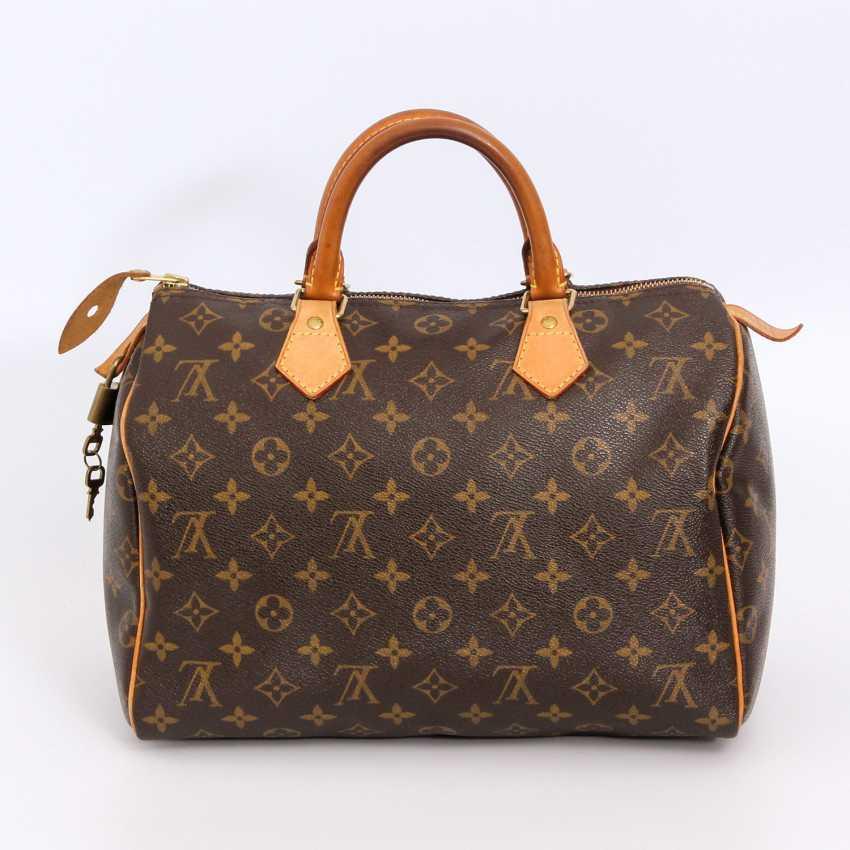 "LOUIS VUITTON coveted handbag ""SPEEDY 30"", collection 2010. - photo 4"