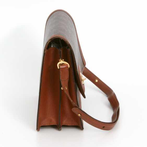 "LOUIS VUITTON VINTAGE distinctive shoulder bag ""RASPAIL"", in the collection in 1992. - photo 3"