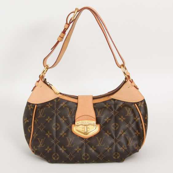 """LOUIS VUITTON chic shoulder bag """"CITY BAG PM"""", collection 2009. - photo 1"""