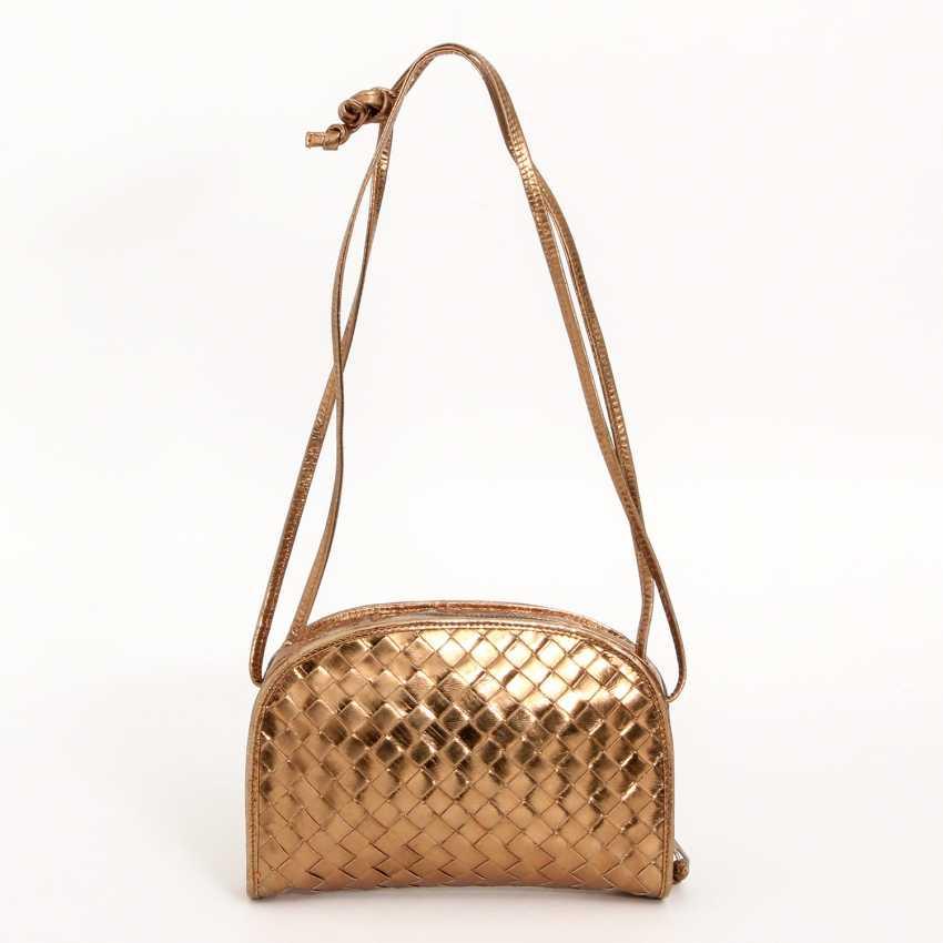 BOTTEGA VENETA, chic shoulder bag,approx. 18x14x4cm; - photo 1