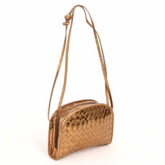 BOTTEGA VENETA, chic shoulder bag,approx. 18x14x4cm; - photo 2